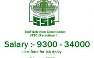 scientific assistant recruitment In Odisha SSC August 2015