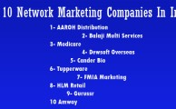 network marketing company in india