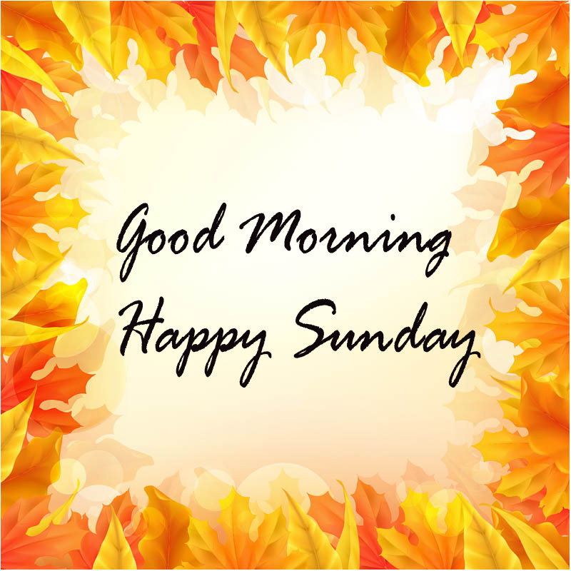 Sunday Good Morning Wallpaper Pics Photo