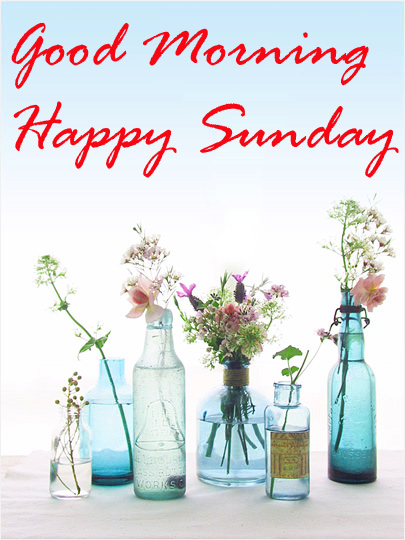 Sunday Good Morning Photo Pic HD Download