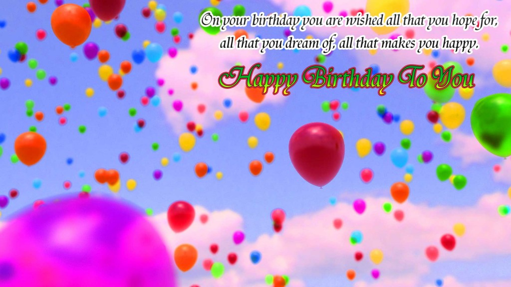 Happy Birthday Pictures Wallpaper photo Pics Download