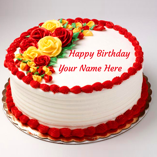 271+ Birthday Cake Images With Name For You Friends Download