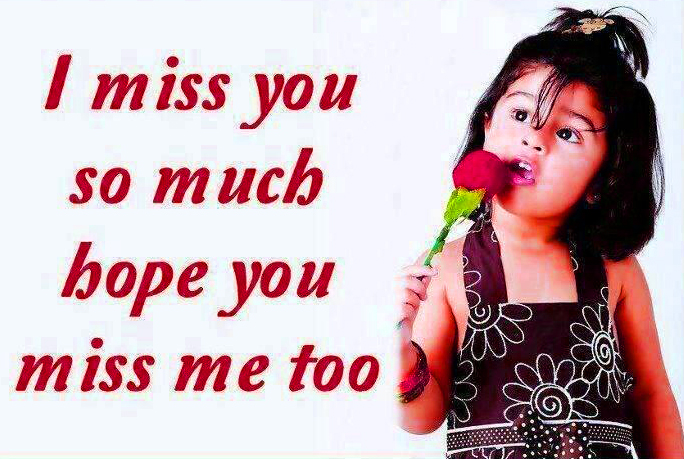 I miss u You Photo Download