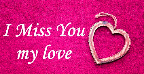 I miss you Photo Wallpaper
