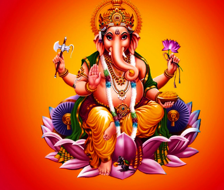 गणेश इमेजेज Lord Ganesha Photo Wallpaper Pictures HD