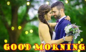 Romantic Husband Good Morning Photo Images HD