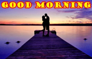 Romantic Husband Good Morning Photo Images Pictures Free HD