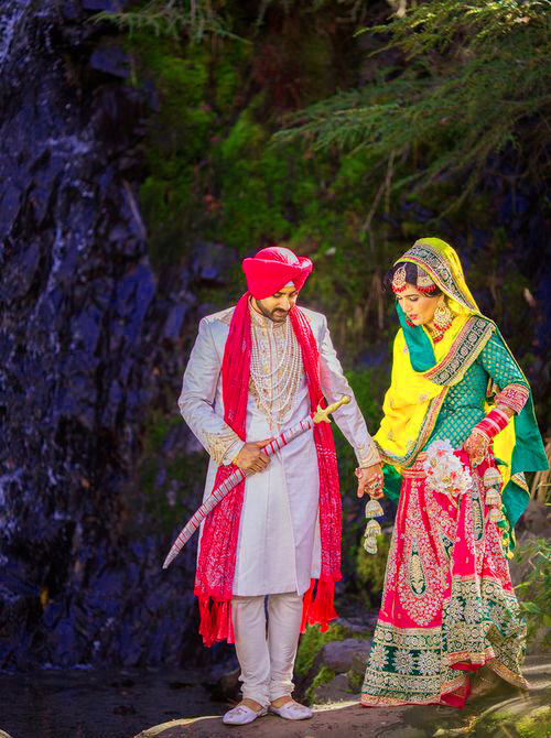 Sweet Cute Punjabi Wedding Lover Love Couple Wallpaper Pictures Images HD Download
