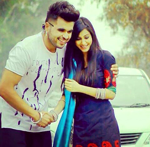 Sweet Cute Punjabi Wedding Lover Love Couple Wallpaper Photo Images Download