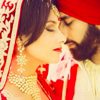 Sweet Cute Punjabi Wedding Lover Love Couple Photo Wallpaper Pictures HD