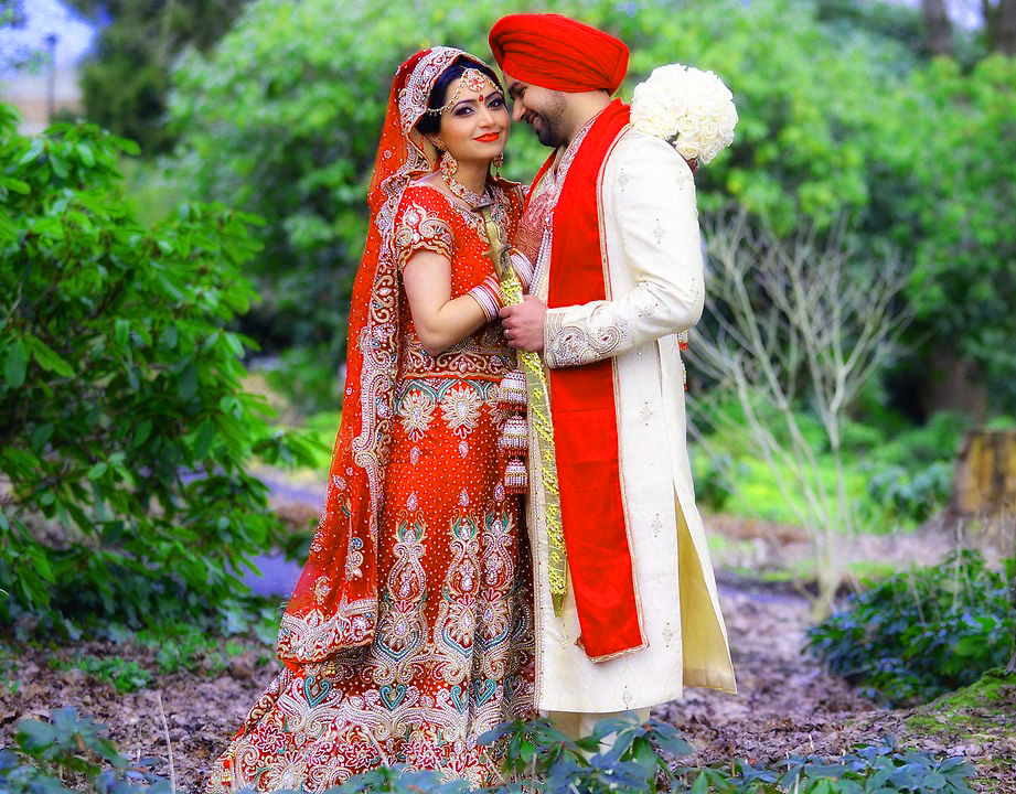 Sweet Cute Punjabi Wedding Lover Love Couple Photo Pictures Wallpaper HD Download