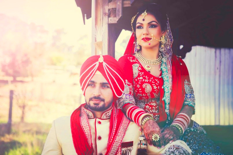 Sweet Cute Punjabi Wedding Lover Love Couple Images Pictures Wallpaper Download
