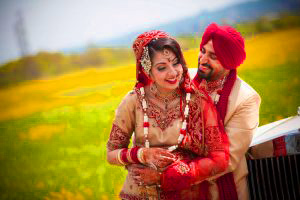Sweet Cute Punjabi Wedding Lover Love Couple Pictures Wallpaper Photo HD