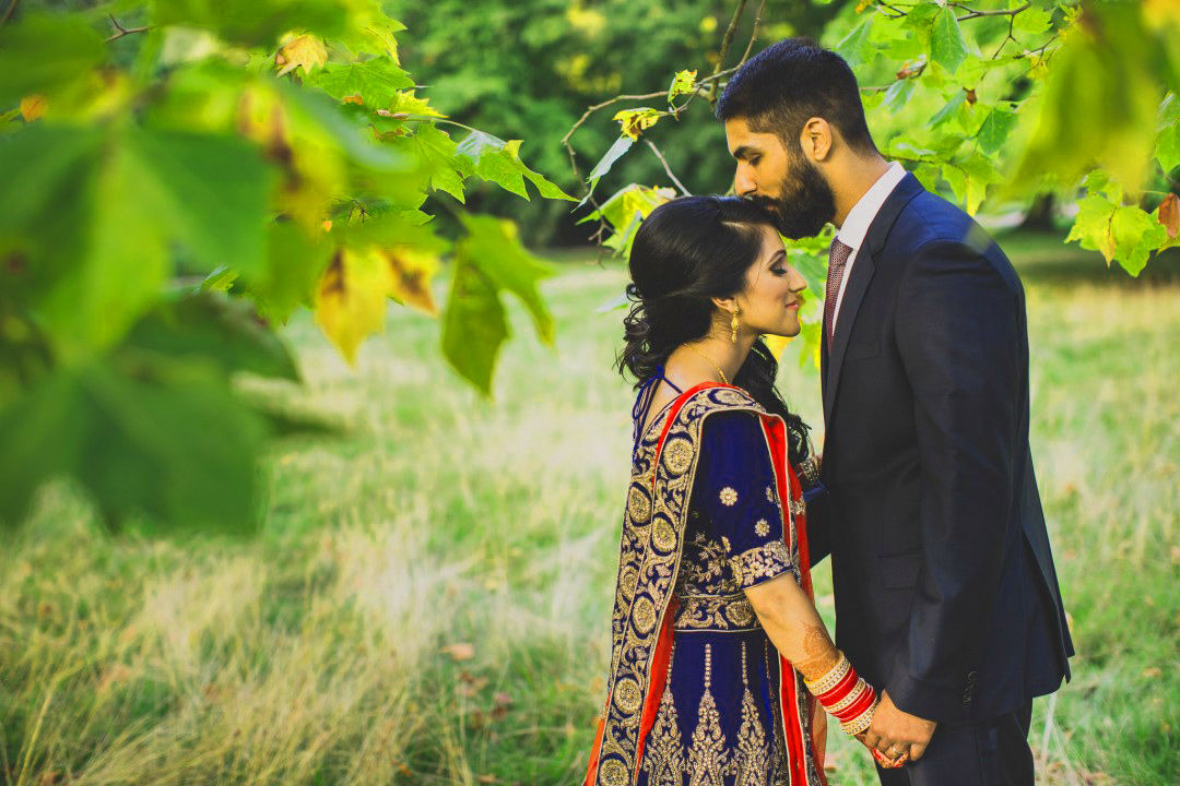Sweet Cute Punjabi Wedding Lover Love Couple Photo Pictures Wallpaper Free HD