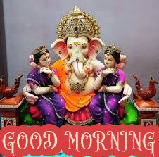 Hindi Quotes Ganesh Good Morning Images Wallpaper Pictures Photo pics Download
