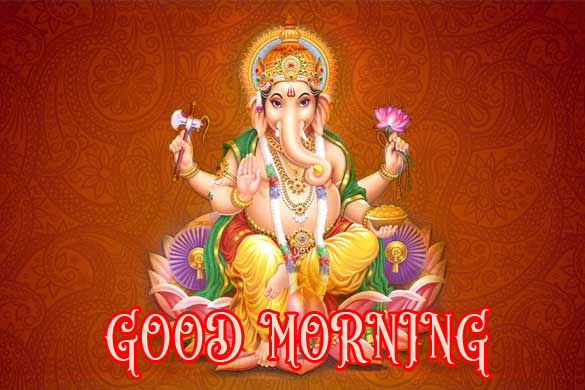 Hindi Quotes Ganesh Good Morning Images Wallpaper Pictures Photo pics Free HD Download