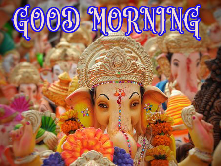Hindi Quotes Ganesh Good Morning Images Wallpaper Pictures Photo pics HD