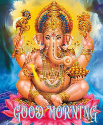 Ganesha good morning image with hindi quotes (51)