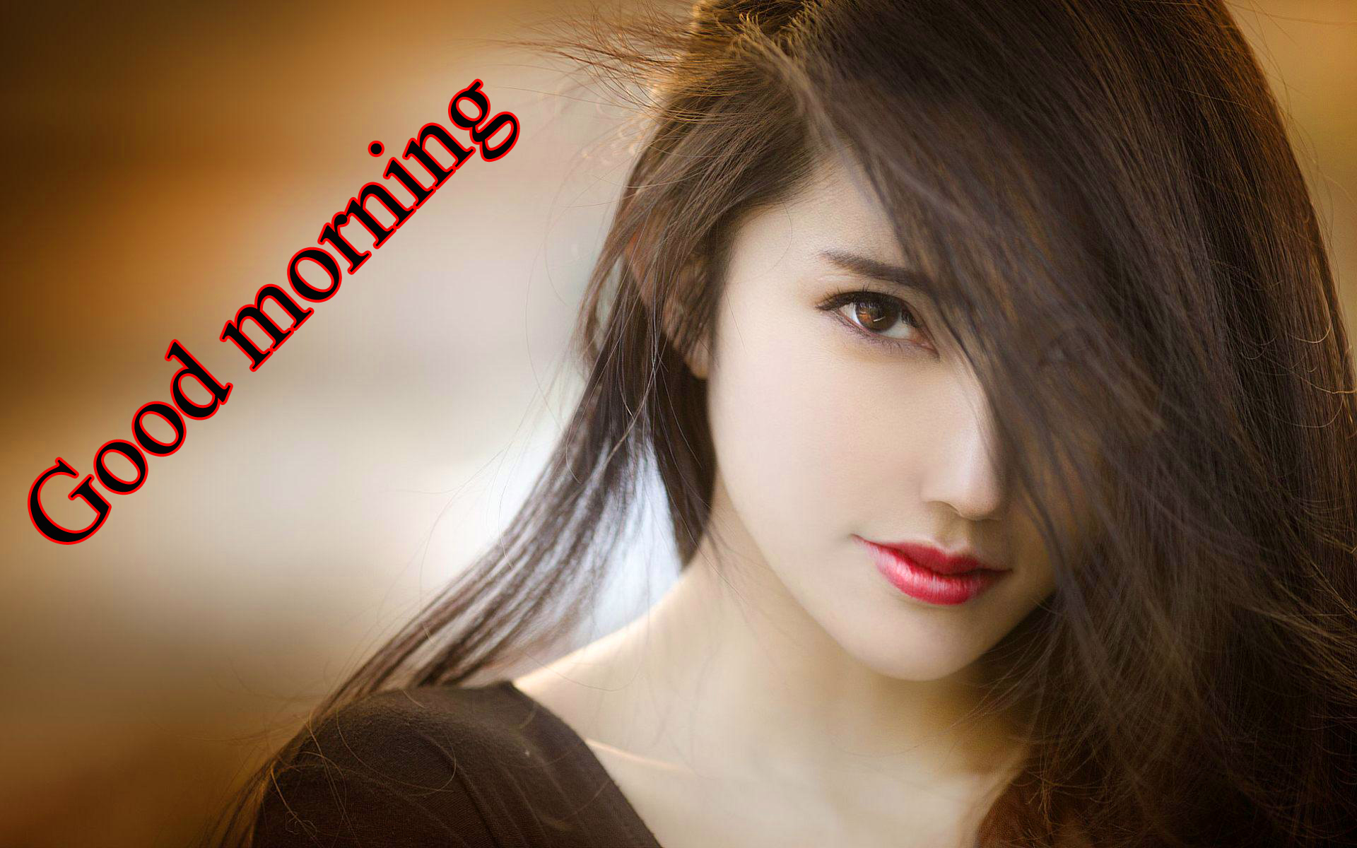 HD Good morning picture for the most beautiful girl in the world Images Pics HD Download
