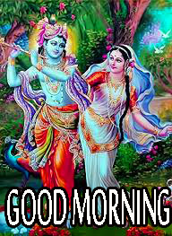 Radha Krishna Good Morning Images Wallpaper Pics Free HD Download