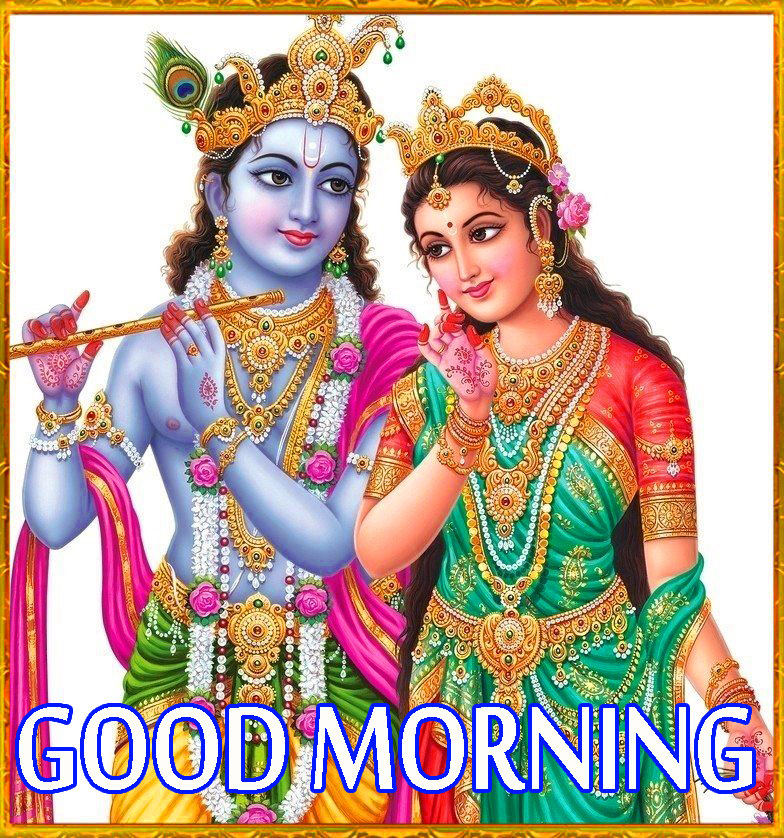 Radha Krishna Good Morning Images Wallpaper Pics Free HD