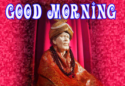 Sai Baba Good Morning Images Wallpaper Pictures
