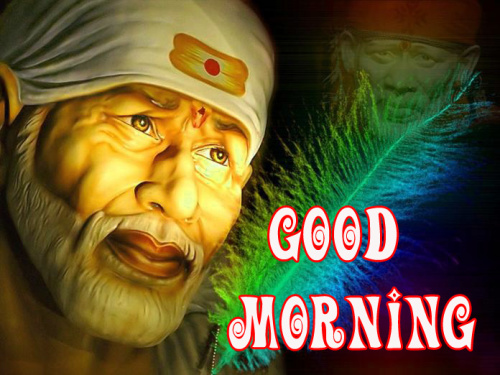Sai Baba Good Morning Images Photo Download for Whatsapp