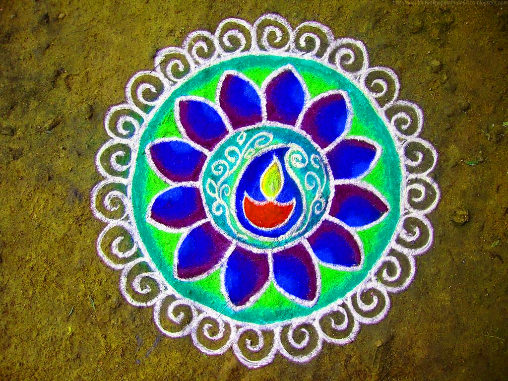 Rangoli Designs Images Wallpaper pics Download for FB