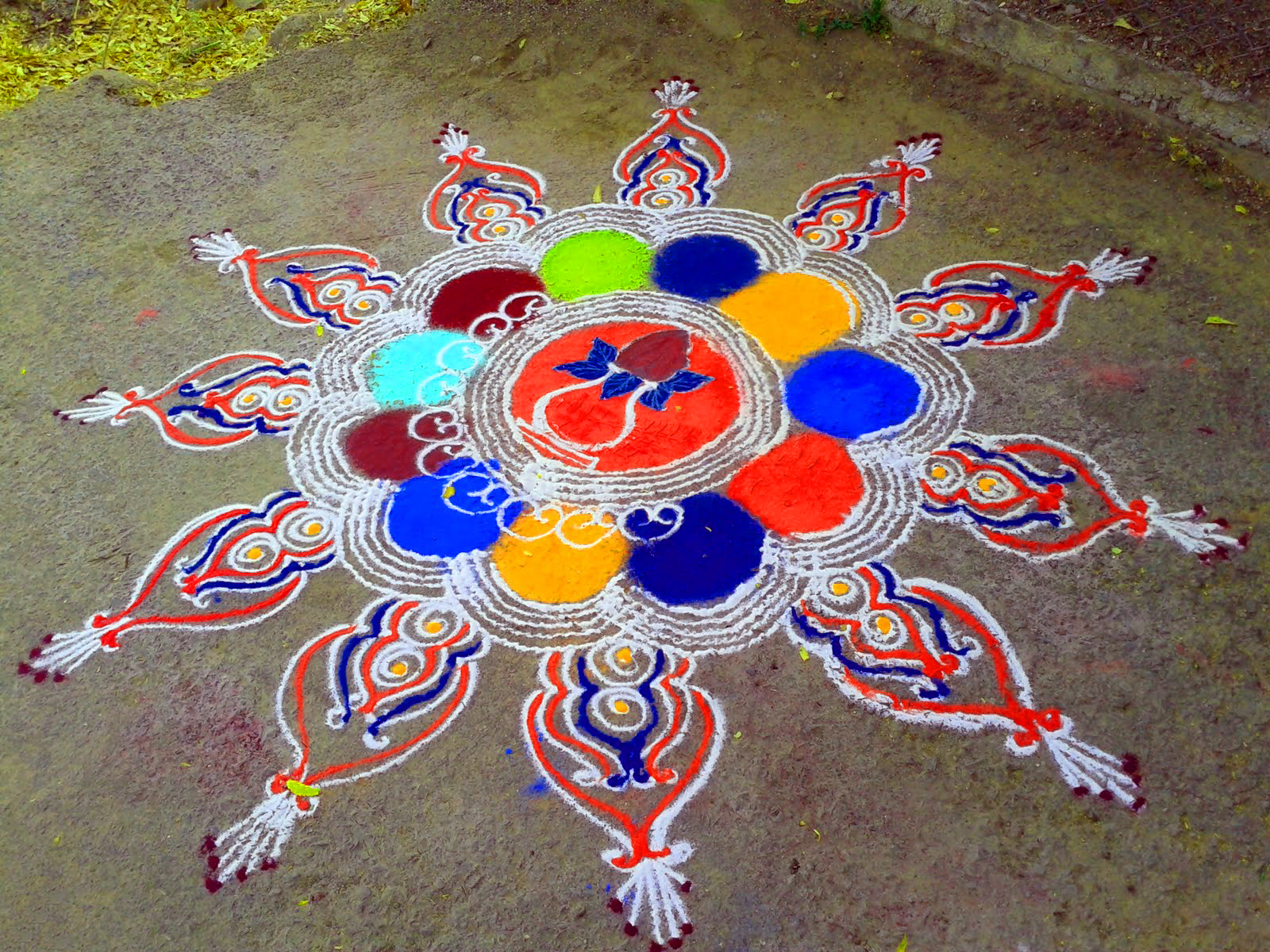 Rangoli Designs Images Wallpaper Pics Free for Whatsapp
