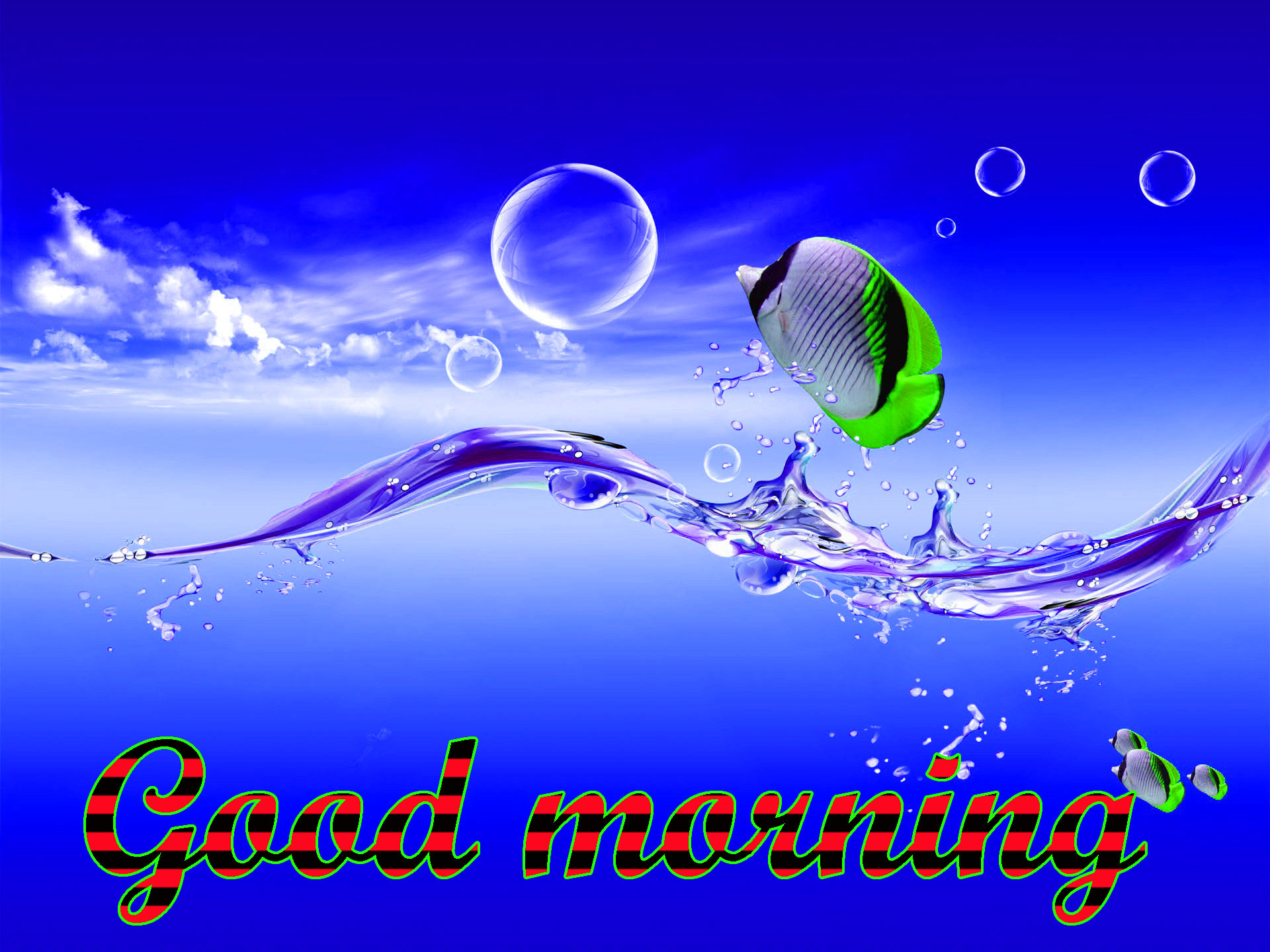 BEAUTIFUL 3D GOOD MORNING IMAGES WALLPAPER PICTURE DOWNLOAD