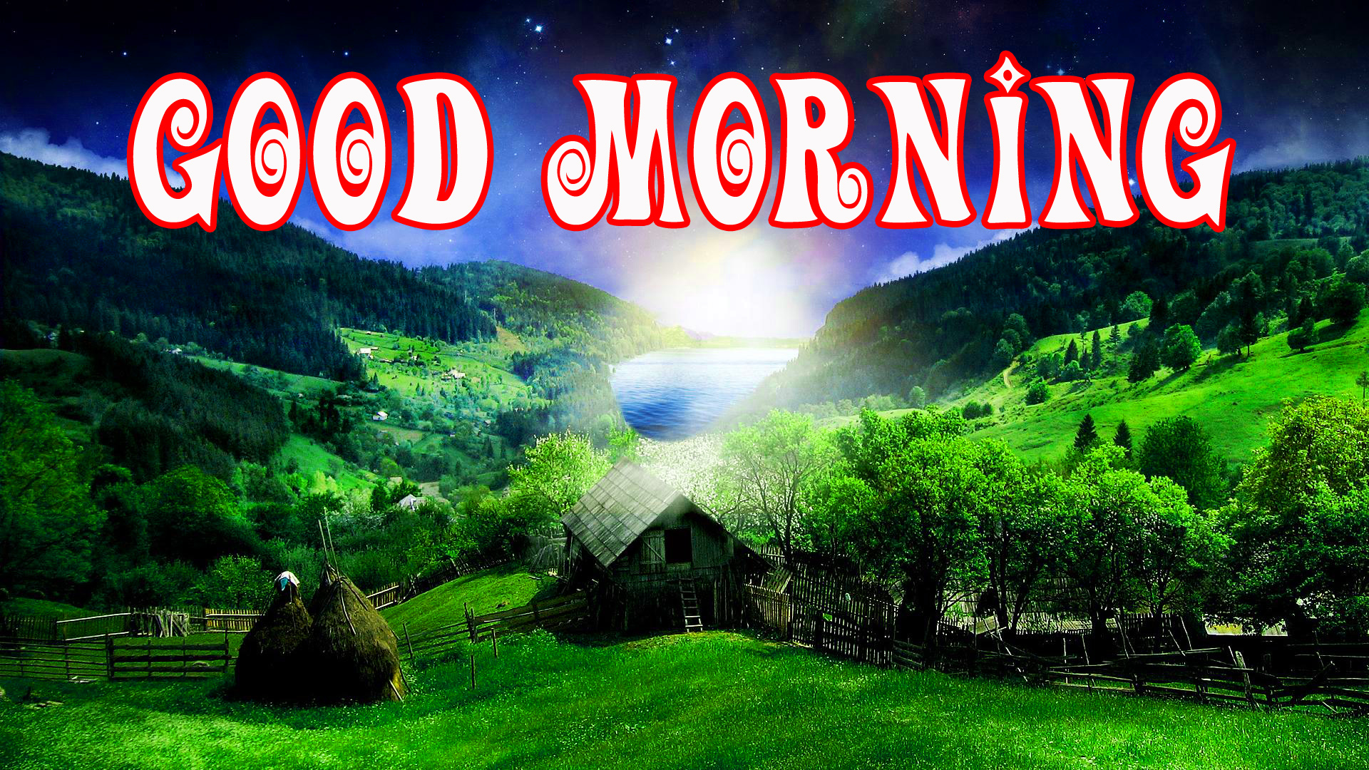 Beautiful 3d Good Morning Images Wallpaper Pictures
