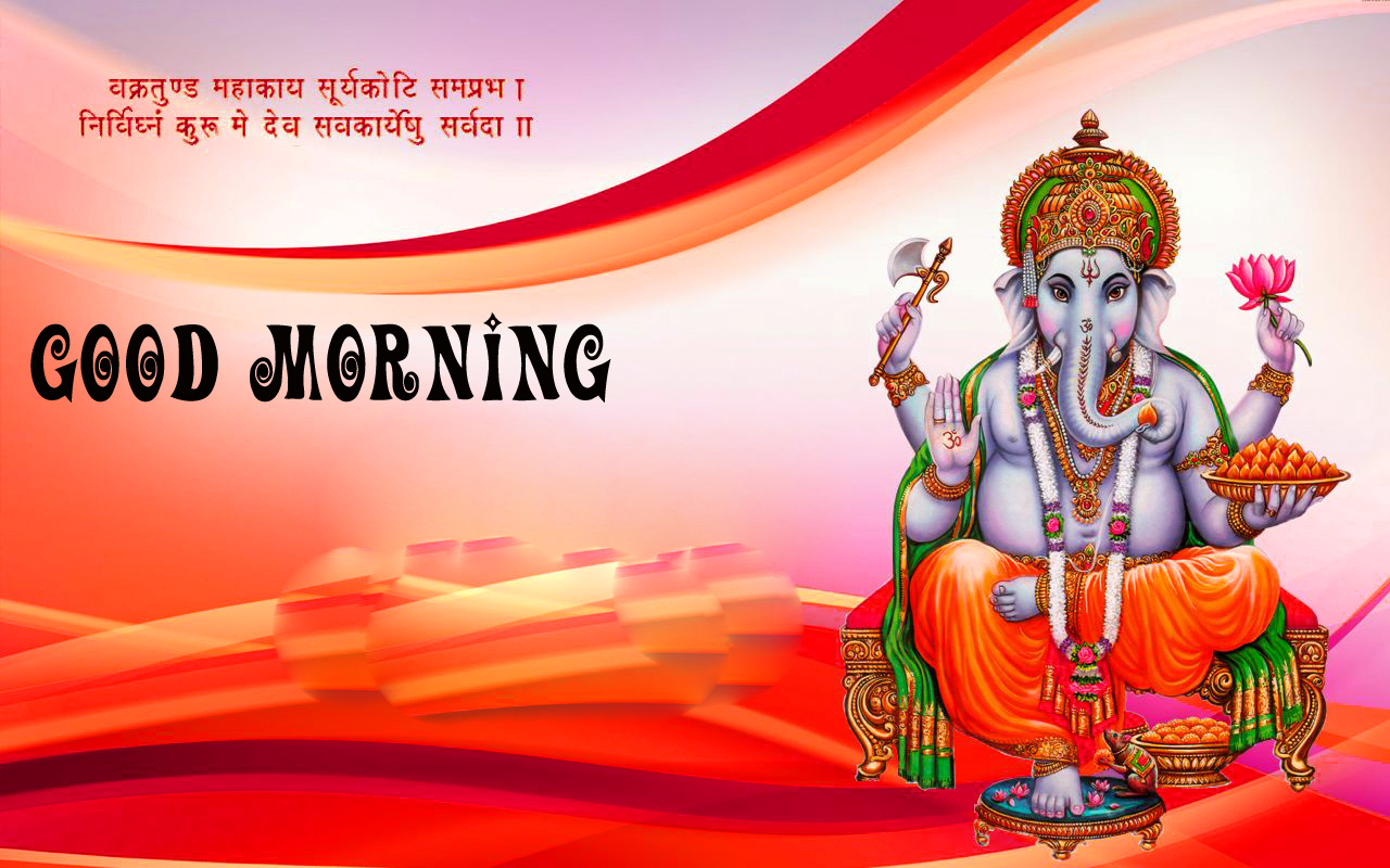 Ganesha Good Morning Images Photo Pics