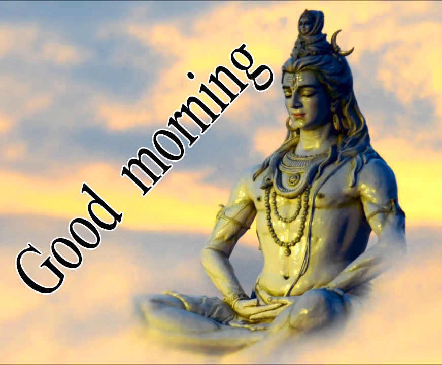 LORD SHIVA GOOD MORNING WISHES IMAGES WALLPAPER PICS DOWNLOAD