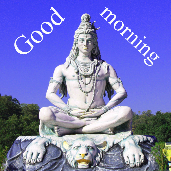 LORD SHIVA GOOD MORNING WISHES IMAGES PHOTO PICS HD FREE DOWNLOAD
