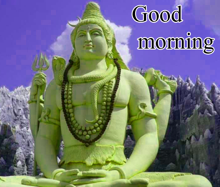 289+ Lord Shiva Good Morning Wishes Images Wallpaper Photo Pics For