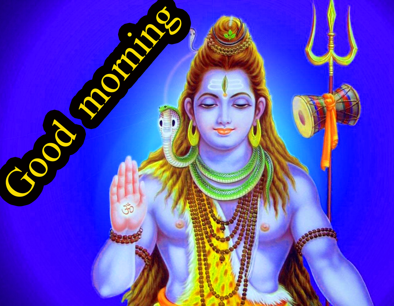 LORD SHIVA GOOD MORNING WISHES IMAGES WALLPAPER PICTURES FREE
