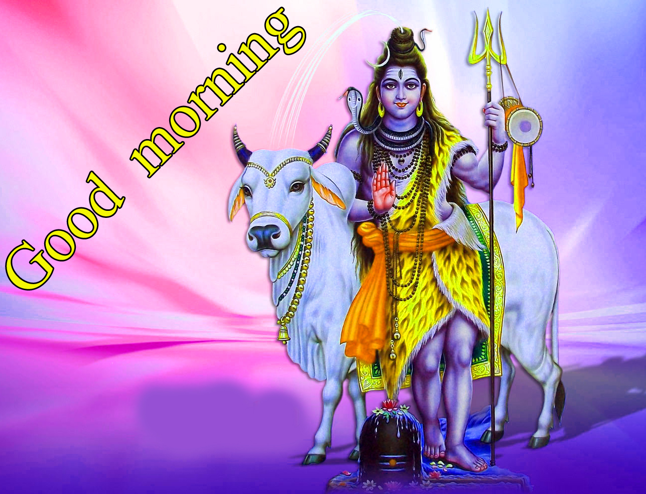 LORD SHIVA GOOD MORNING WISHES IMAGES PHOTO FOR FACEBOOK