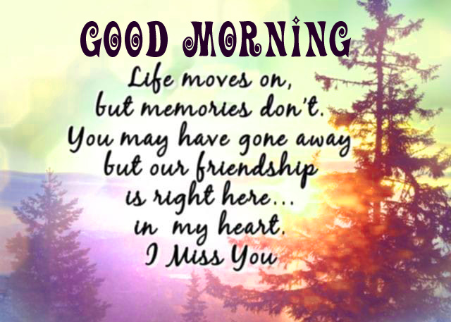 Good morning friend i miss you images