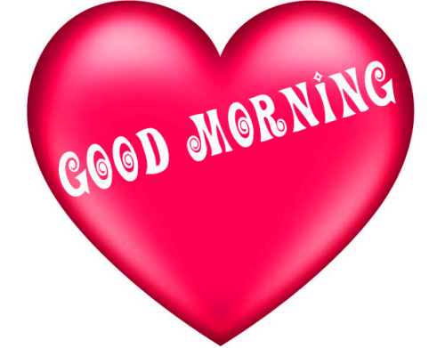 Good morning wishes with heart Images Wallpaper Download