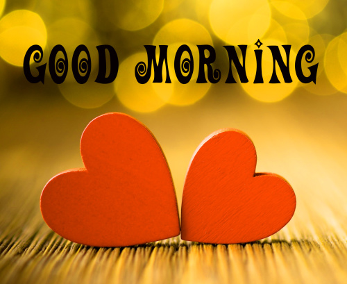 Good morning wishes with heart Images Photo Pic Download