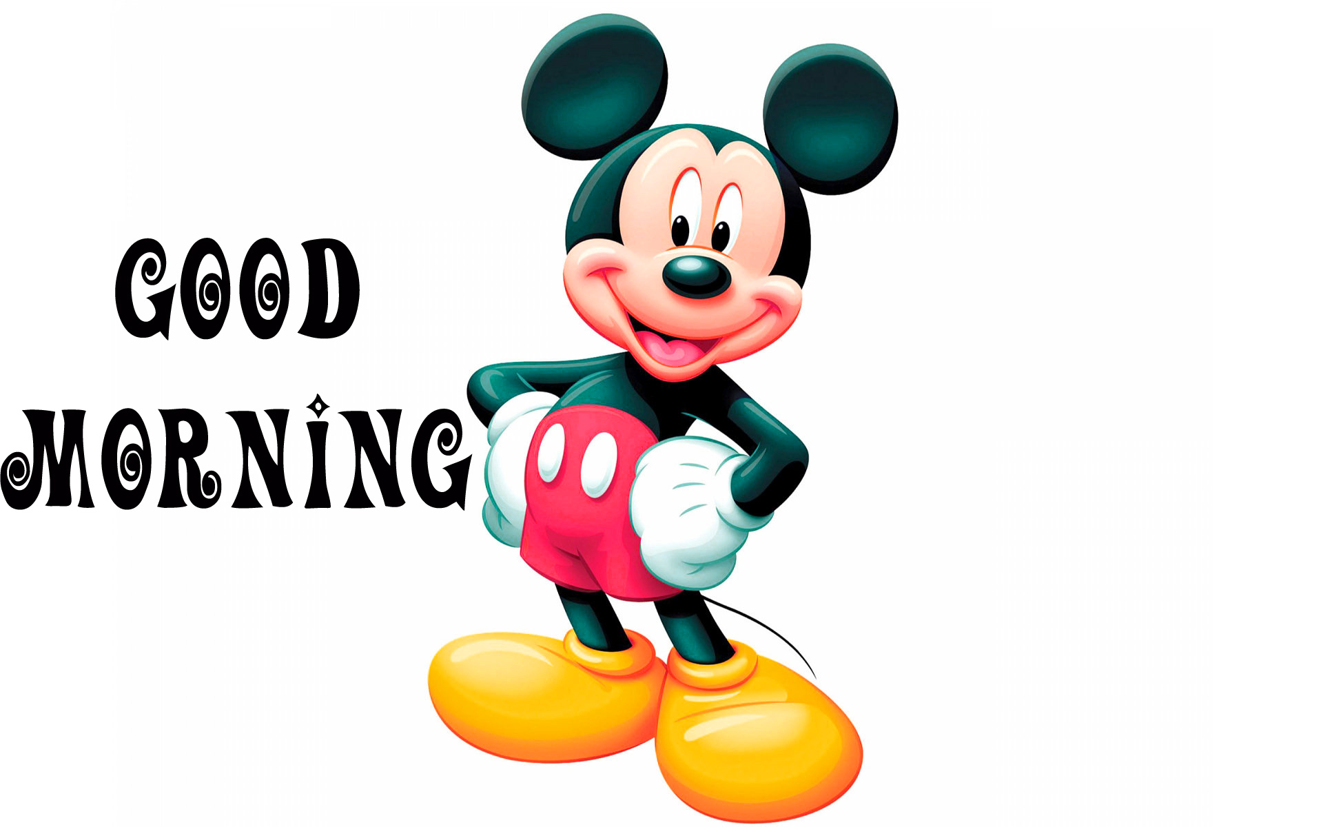 Good morning  wishes with mickey Images  Pics Download Good morning wishes with mickey Images (2)