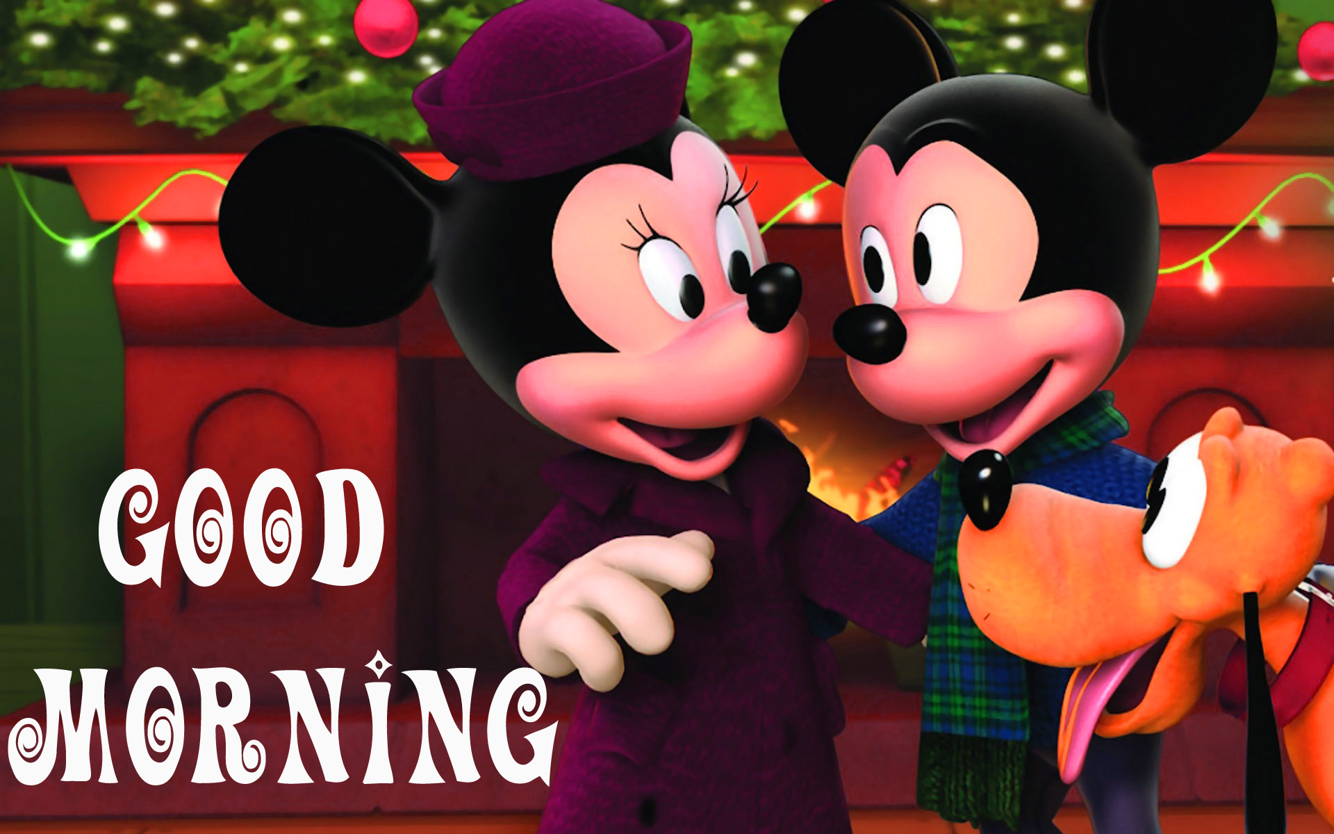 Good morning  wishes with mickey Images Wallpaper Pictures for Whatsapp
