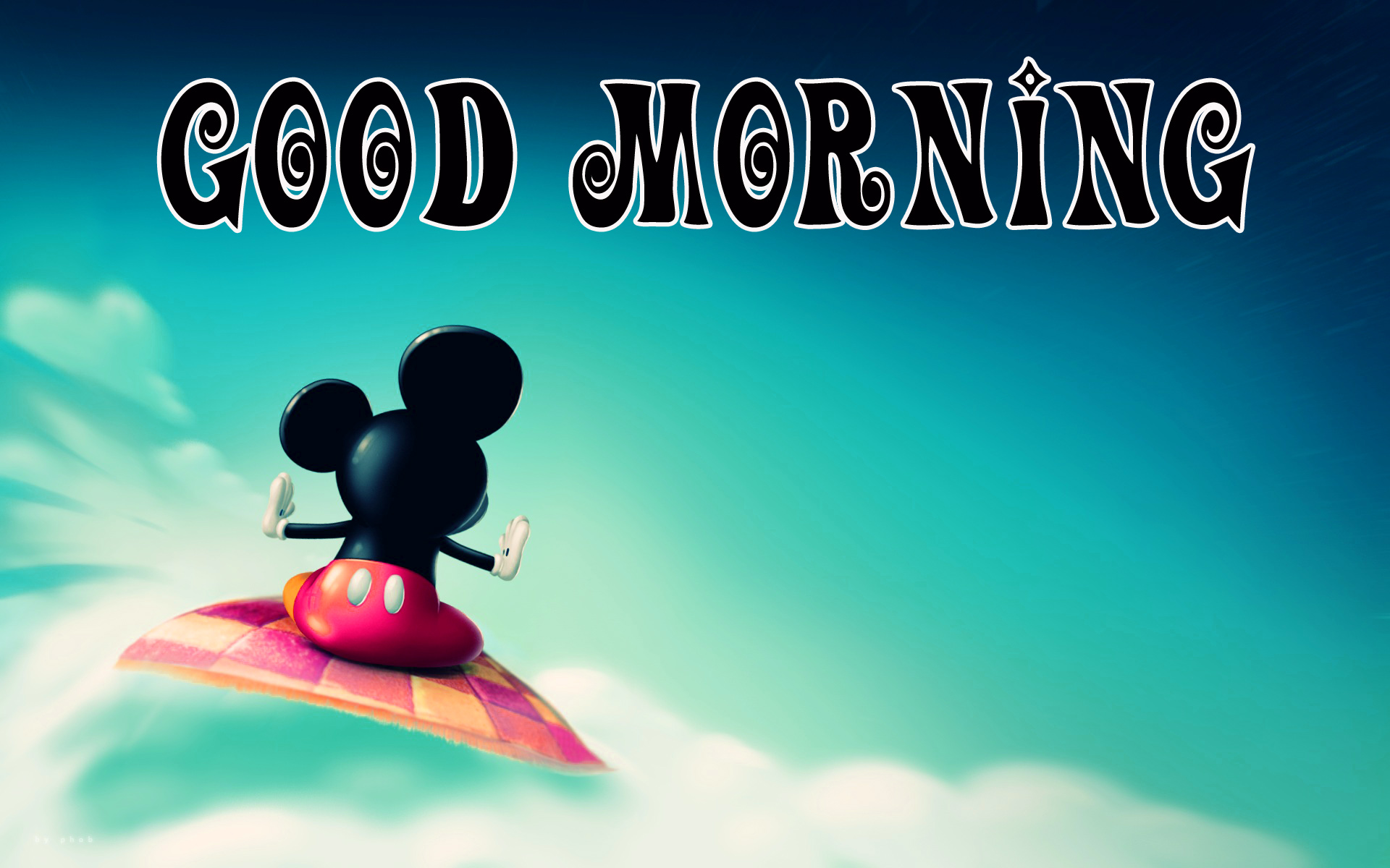 Good morning  wishes with mickey Images Photo For Facebook