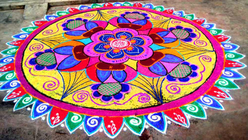Rangoli Designs Images Photo for Whatsapp