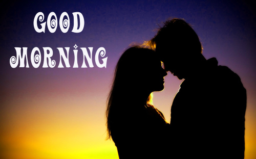 Romantic Lover Best good morning Photo for Whatsapp