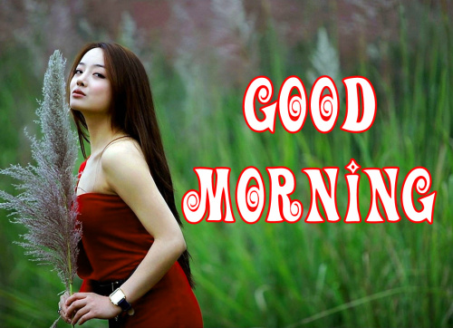 Good morning wishes for girl Images Wallpaper Pics for Whatsapp