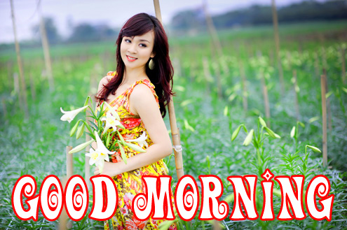 Good morning wishes for girl Images Photo for Whatsapp