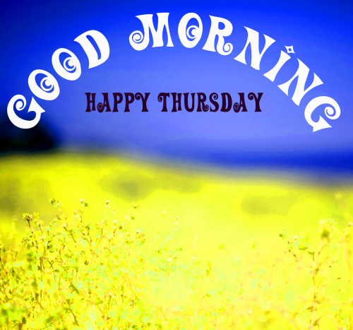 good morning wishes on thursday Images Photo Download