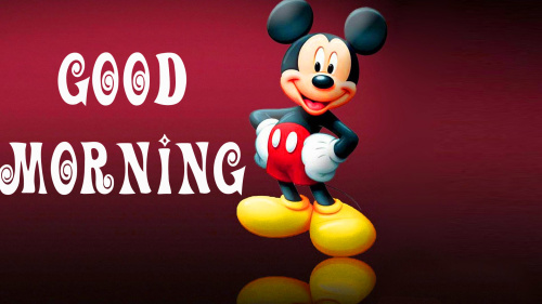 good morning wishes with cartoon images Pics Wallpaper Download