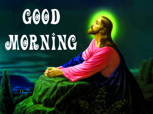 lord jesus Good Morning Images Wallpaper Download